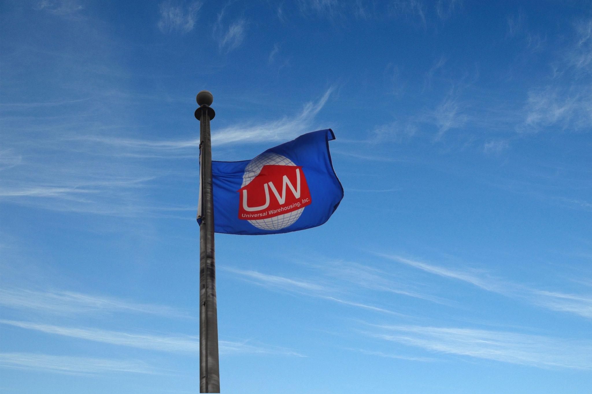 Universal Warehousing Flag