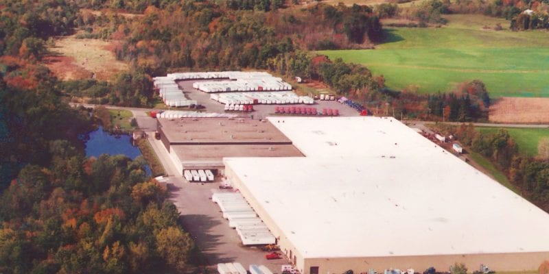 Warehouse One Aerial View